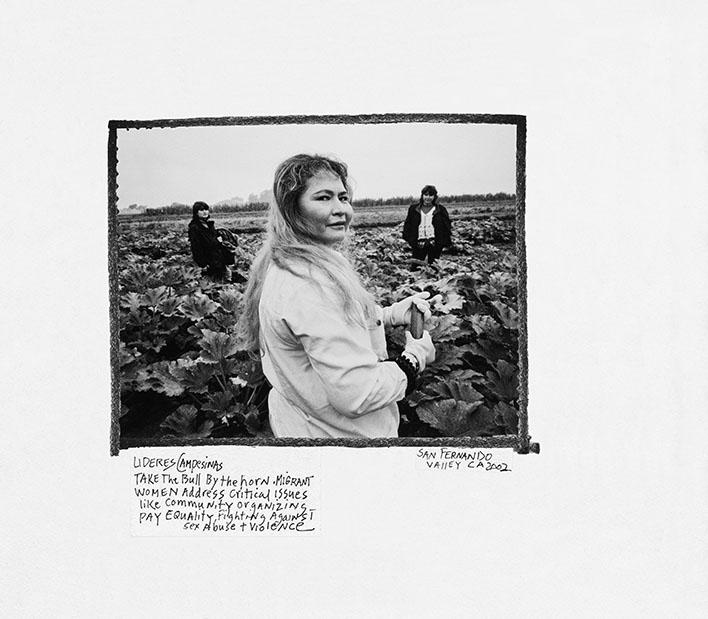Donna Ferrato. Peasant Leaders: San Fernando Valley, CA 2002 Take the Bull by the Horns © Donna Ferrato