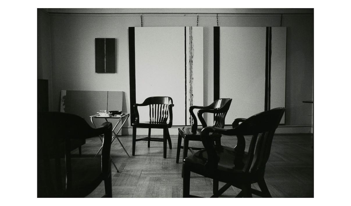 Ugo Mulas.Barnett Newman's apartment, 1964-65 © Ugo Mulas
