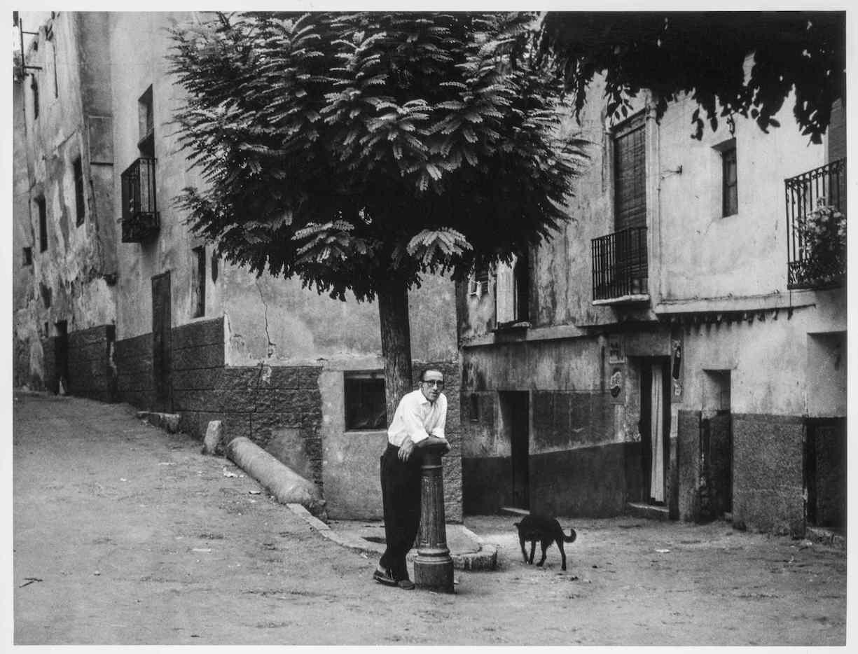 Reproducción del fotografía de Gerardo Vielba para la edición del catálogo de su exposición en la sala Canal de la Comunidad de Madrid