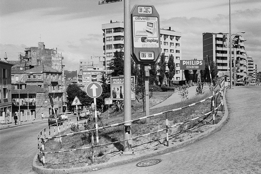Guy Hersant. Sin título, 1986 (Vigovisións). Colección fotográfica municipal. Ayuntamiento de Vigo © Guy Hersant