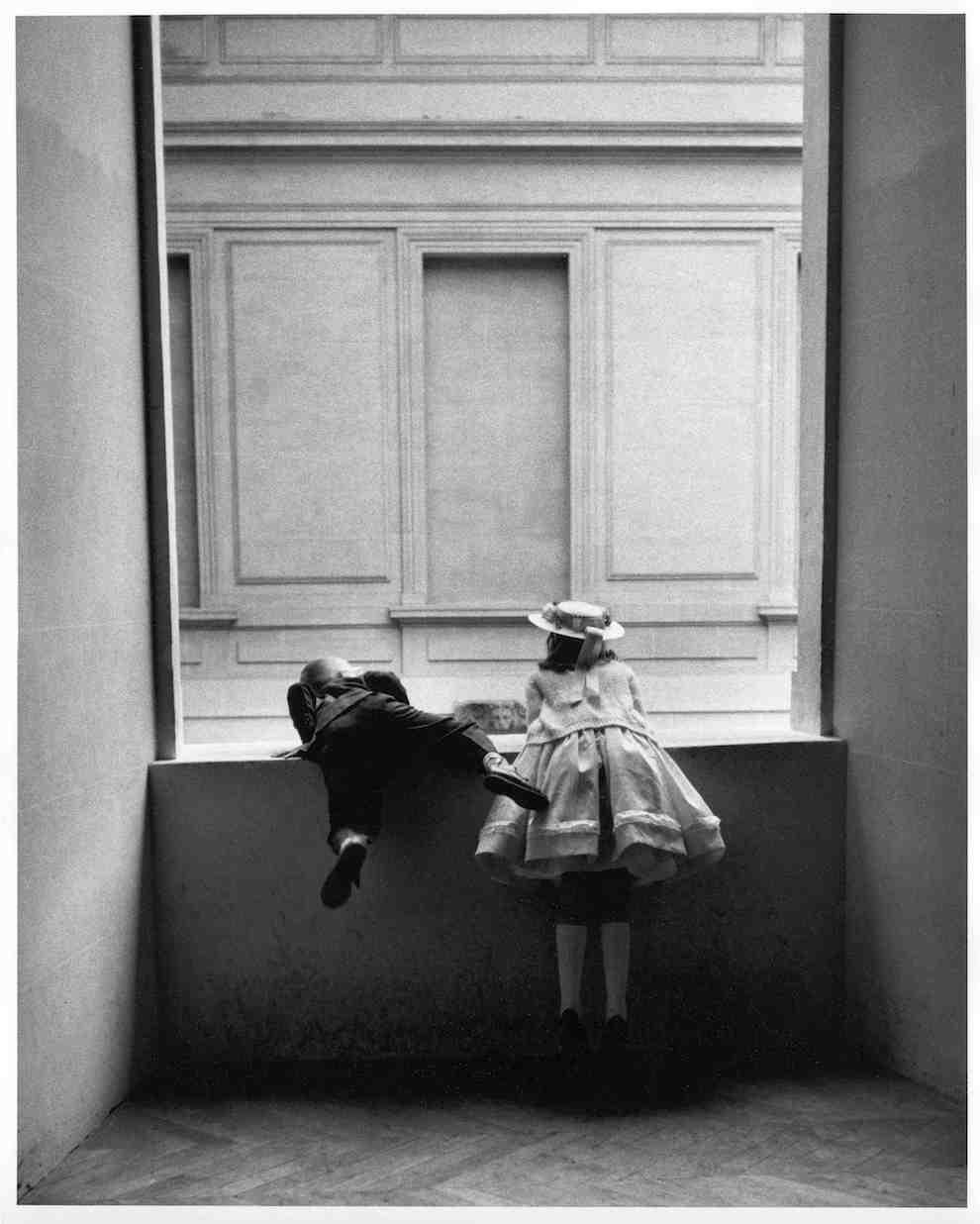 Gerardo Vielba. Niños del Louvre. París, 1962 ©Archivo familia Vielba