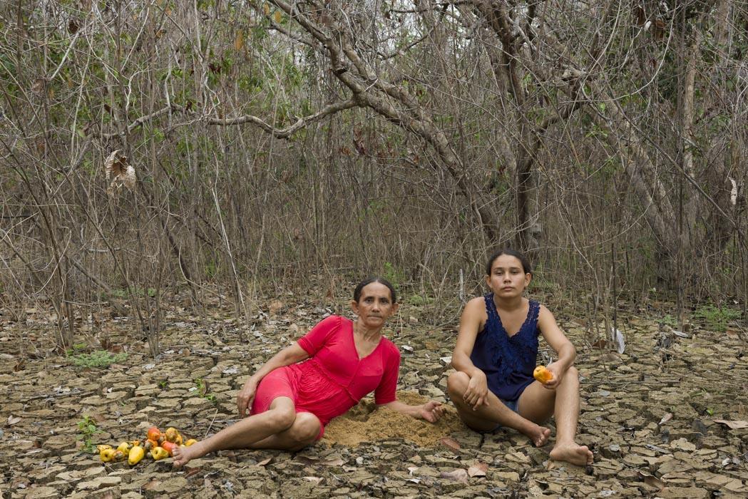 Portrait of Maria das Graças and Delcilene, 2016 © Maria das Graças da Silva, Delcilene Gomes da Silva, and Marilene Ribeiro