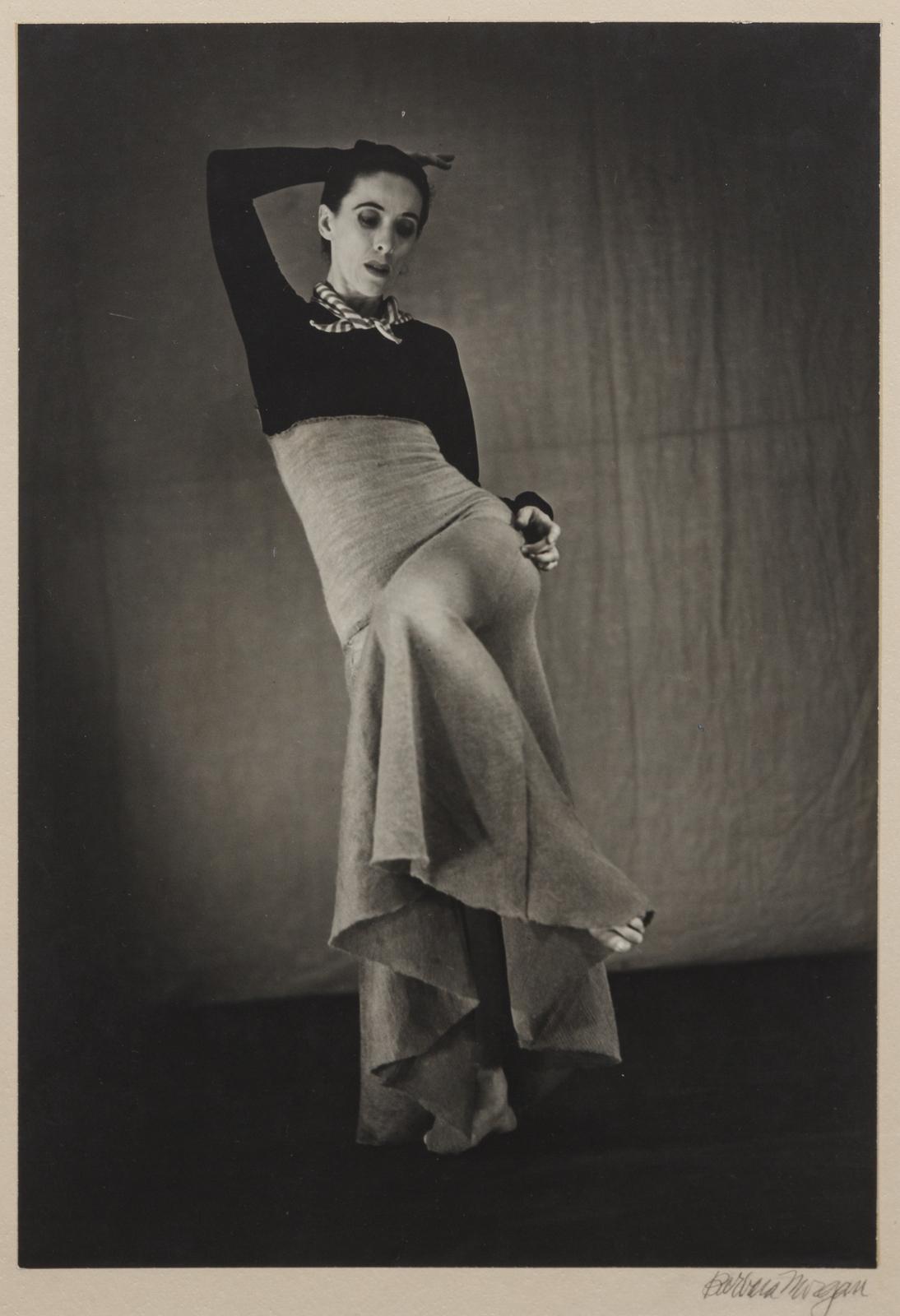 Barbara Morgan. Martha Graham - Cante jondo, 1937 © Barbara Morgan