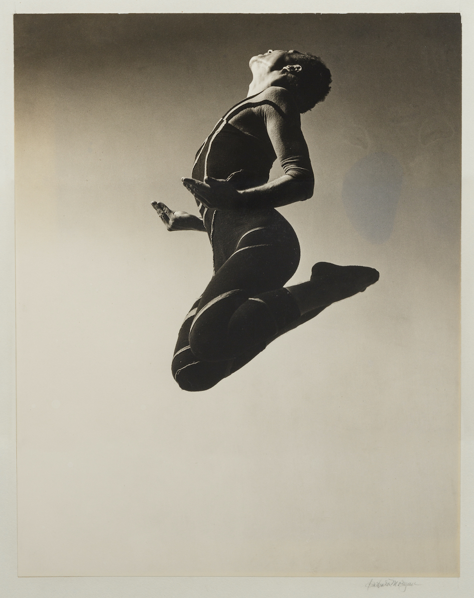 Barbara Morgan. Merce Cunningham. Tótem Ancestor, 1942 ©Barbara Morgan