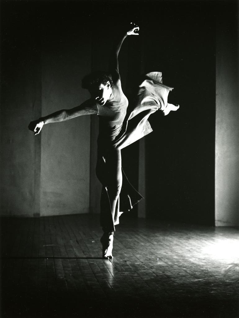 Barbara Morgan. Charles Weidman - Lynchtown (solo de Bea Seckler), 1938 © Barbara Morgan