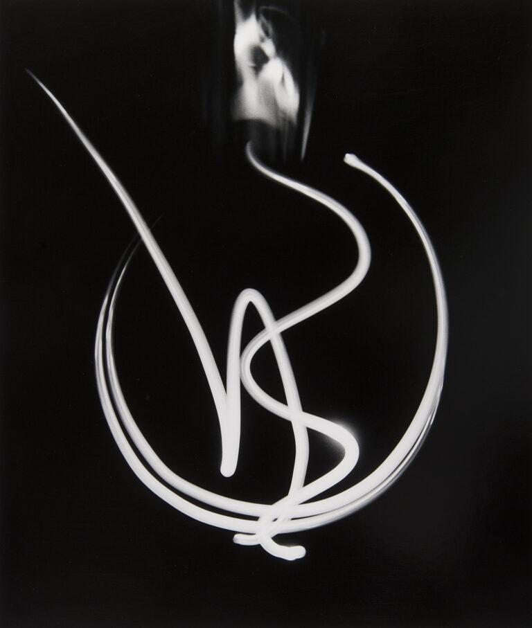 Barbara Morgan. Dibujo de luz, 1940 © Barbara Morgan