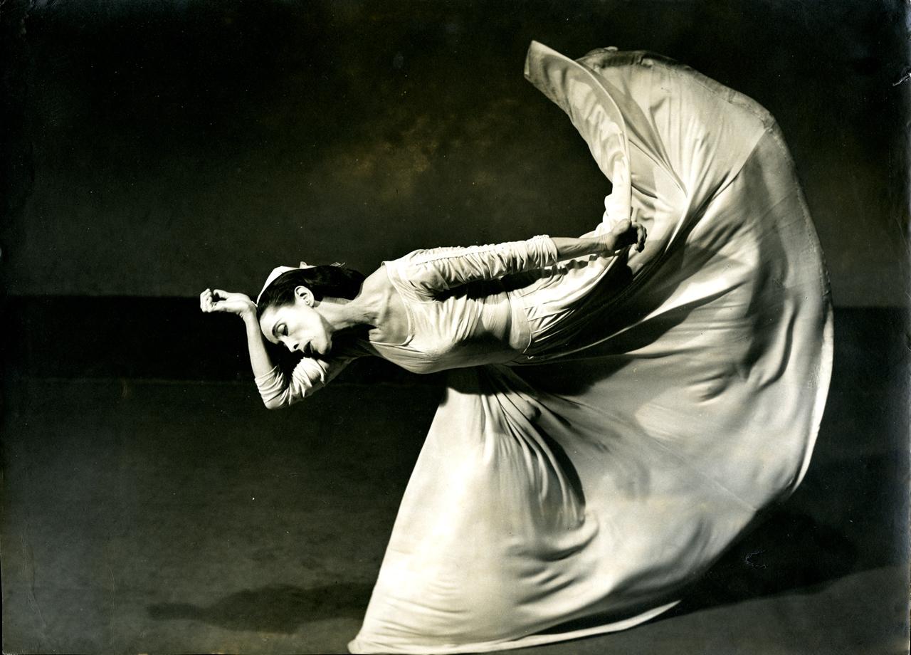 Barbara Morgan. Martha Graham -Carta al mundo (patada), 1940 © Barbara Morgan