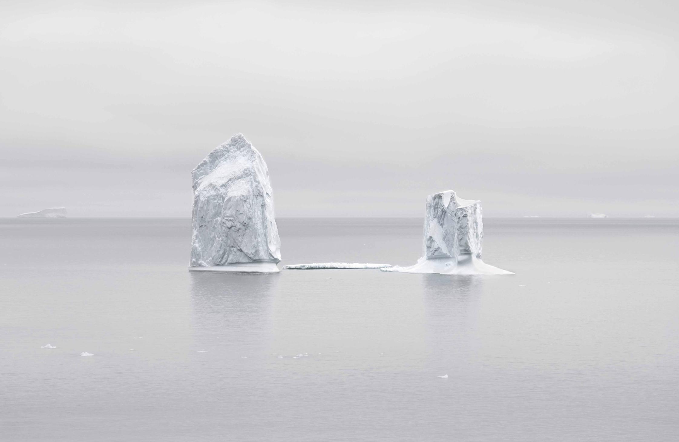 Fernando Moleres. Icebergs, Círculo Polar Ártico, Oeste Groenlandia. 2014 © Fernando Moleres