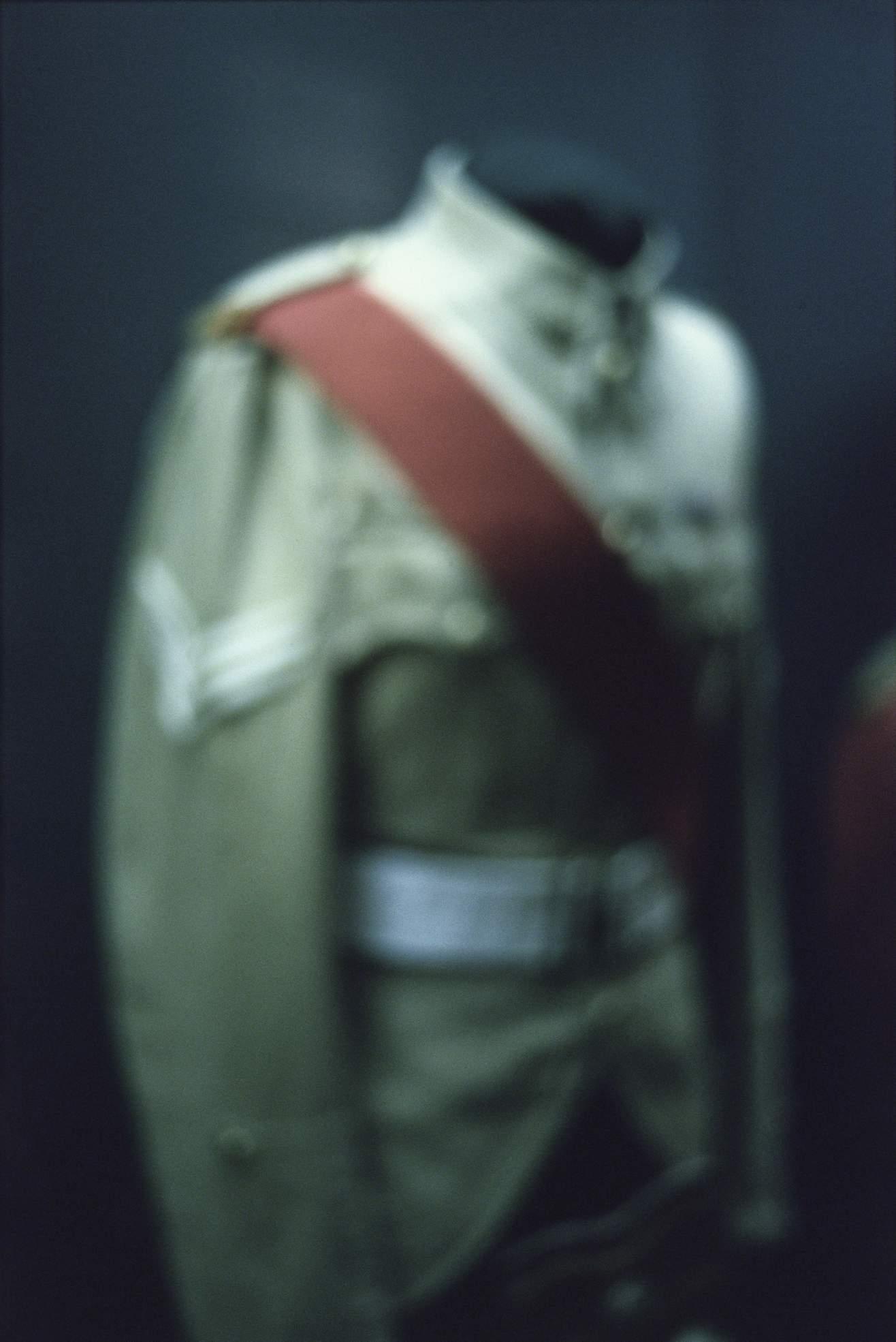 Hentie van der Merwe. Transvaal Scottish (8th Infantry), Sergeant (1945–1951), 2002–2003 (printed 2006). Series: Trappings © Hentie van der Merwe. Courtesy the artist