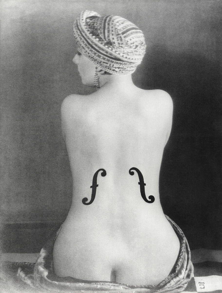 Man Ray. El violin de ingres, 1924 © Man Ray. VEGAP, Madrid, 2021