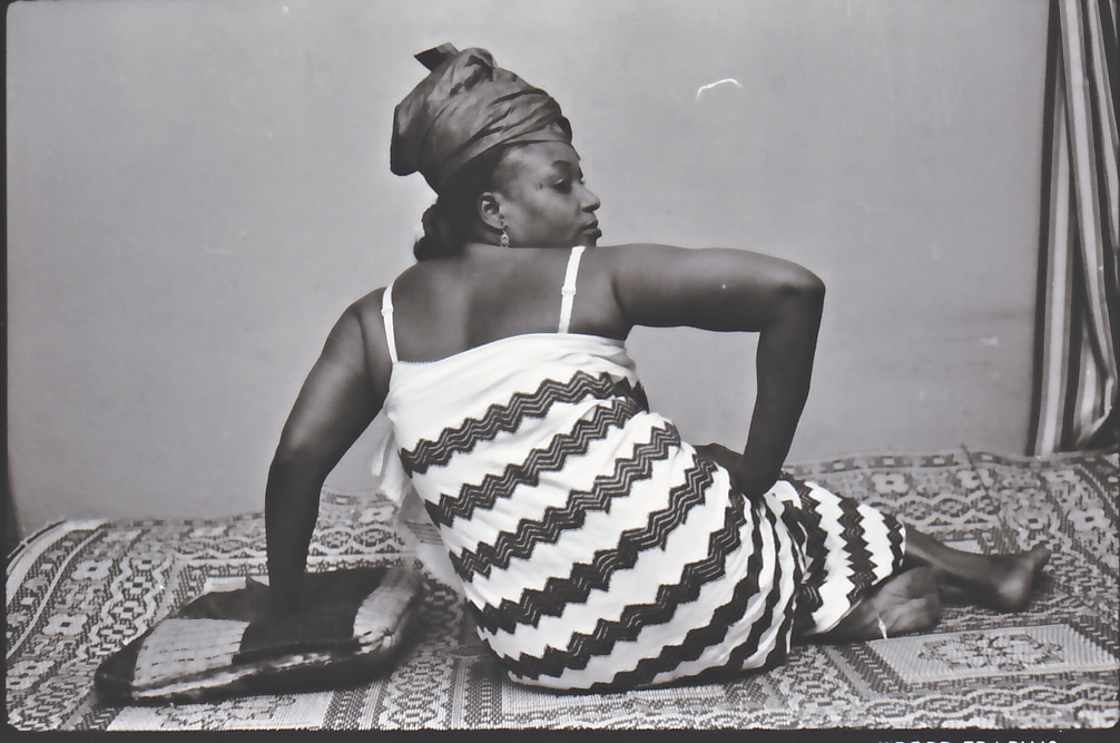 Malick Sidibé. Vues de dos (Back View), 1999 (printed 2005. Courtesy The Walther Collection and MAGNIN-A, Paris