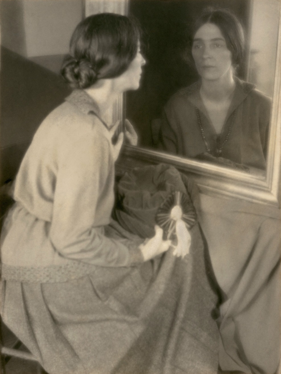 Margaret Watkins by Frances Bode, Clarence H. White School of Photography, 1921 © Margaret Watkins. Joseph Mulholland Collection, Glasgow