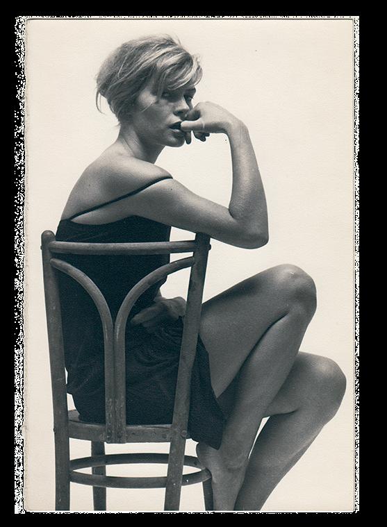 Leopoldo Pomés. Katherin Kröne, 1959 © Arxiu Leopoldo Pomés