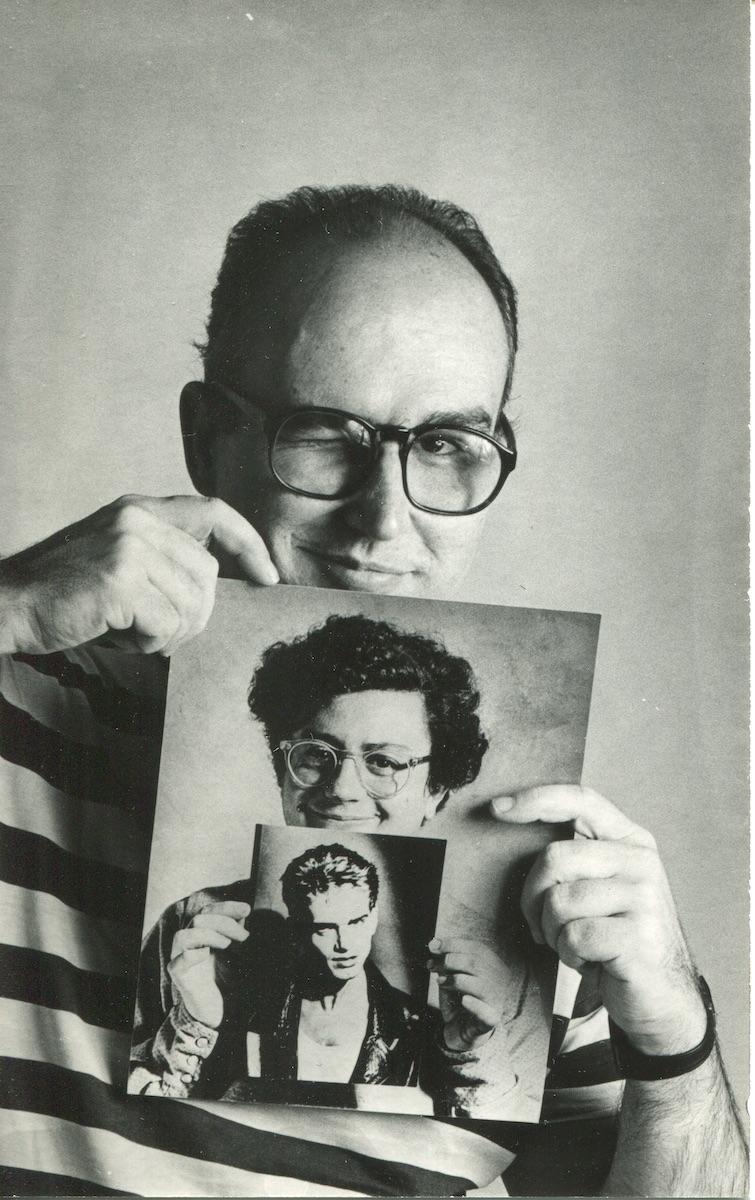 Pablo Pérez-Mínguez. Fotobsesión. P.P.M. Guillermo Pérez Villalta y Santiago Auserón. 1985 © Pablo Pérez-Mínguez. VEGAP, Madrid, 2021
