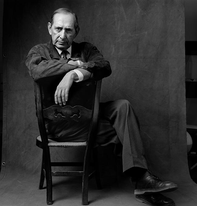 Alberto Schommer. Miguel delibes, 1989 © Fundación Alberto Schommer