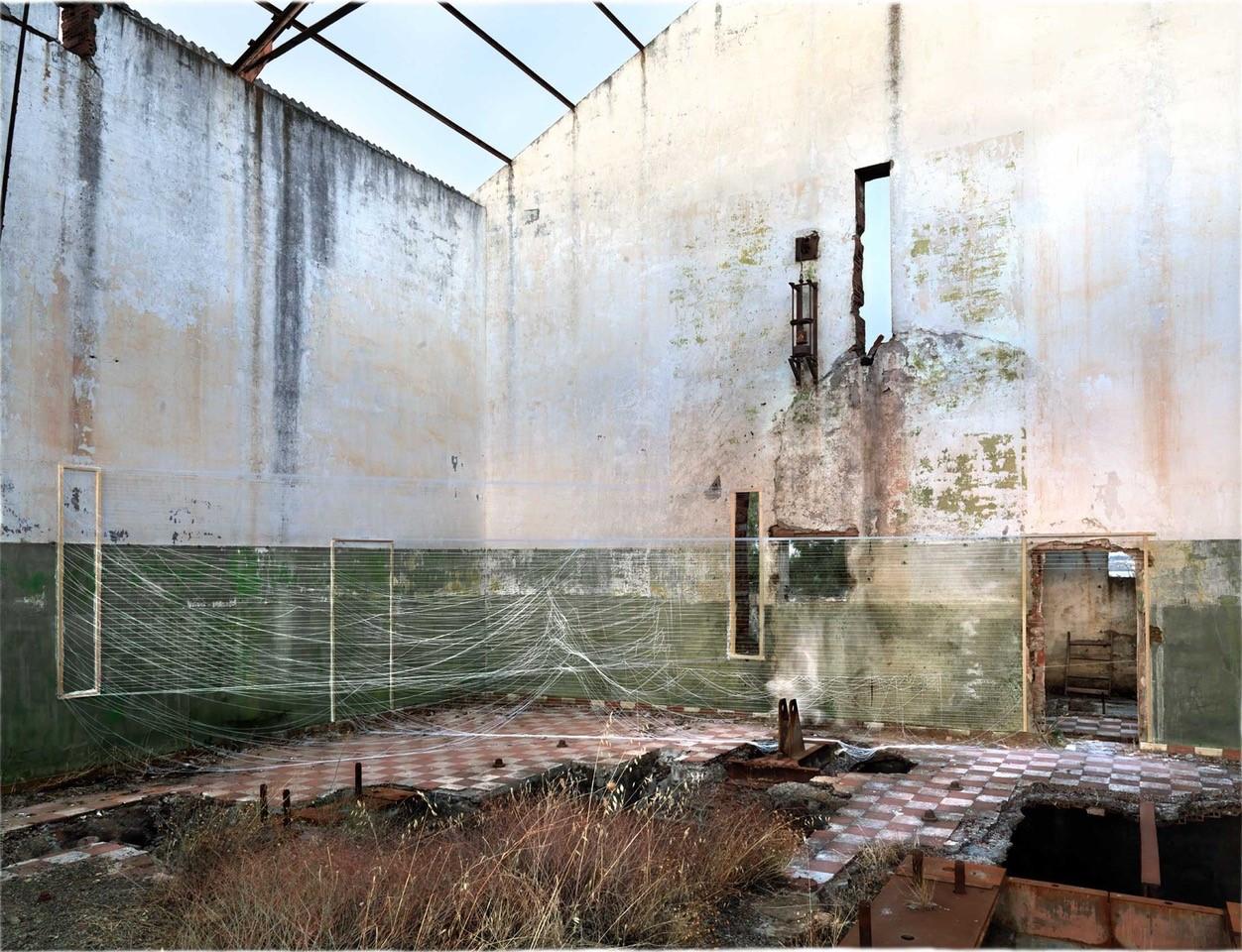 Destrucción de Proyecciones II, 2009/2021 © Linarejos Moreno