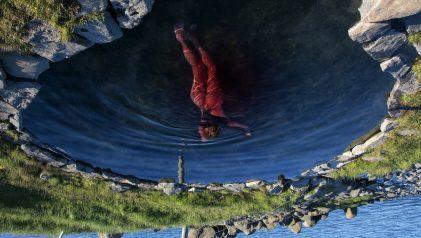 "Liza Ambrossio. Rivers of blood, from the series ""Blood Orange"", 2021 © Liza Ambrossio"
