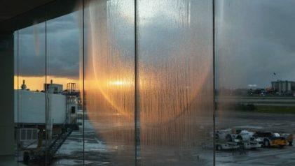 Genesis Báez. Condensation (San Juan Airport). 2019 © Genesis Báez